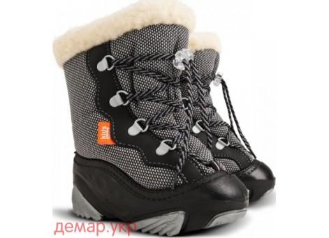 Детские дутики, сноубутсы - Demar SNOW MAR 4017-D, серые