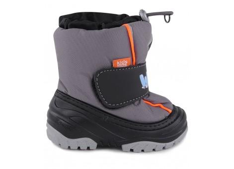 Детские дутики, сноубутсы - Demar ICE SNOW 4033-B, серые