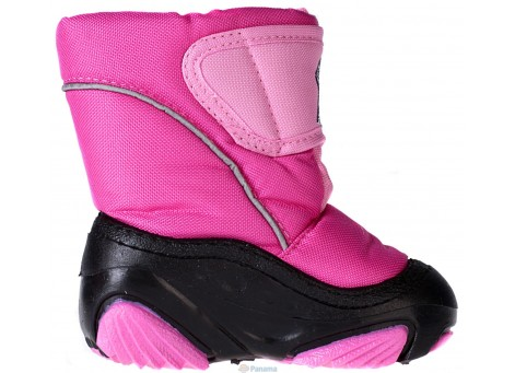Детские дутики, сноубутсы - Demar DOGGY 4021-A, розовые