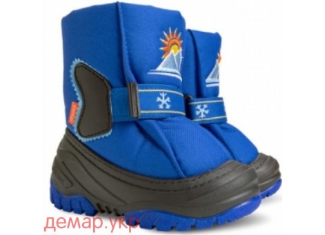 Детские дутики, сноубутсы - DEMAR SUN RISE 4034-C, синие