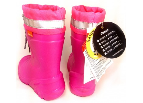 Детские дутики, сноубутсы - Demar MAMMUT-S 0300-F, розовые