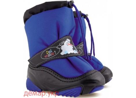 Детские дутики, сноубутсы - Demar SNOWMEN 4010-B, голубые