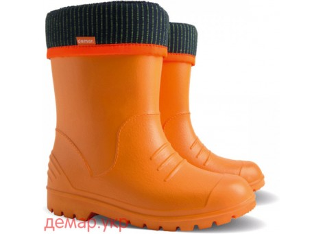 Резиновые сапоги - DEMAR DINO 0310-c, оранжевые