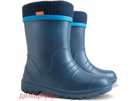 Резиновые сапоги - DEMAR DINO 0310-d, синие