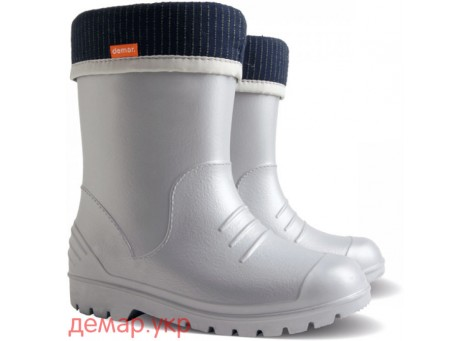 Резиновые сапоги - DEMAR DINO 0310-h, серые