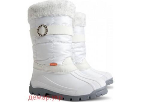 Детские дутики, сноубутсы - DEMAR ANETTE-M - a 1301, белые