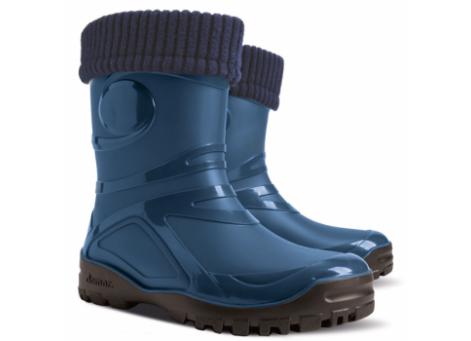Резиновые сапоги - DEMAR YOUNG FUR 0466-a, синие