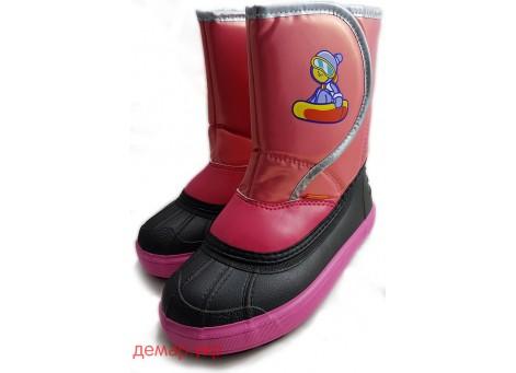 Детские дутики, сноубутсы - DEMAR SNOWBOARDER, демар сноубордер 1505-A, розовые