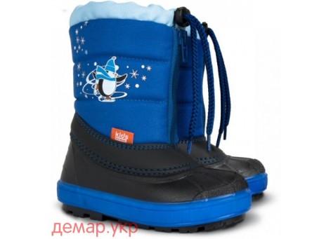 Детские дутики, сноубутсы - Demar KENNY 1502-A, синие