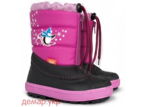 Детские дутики, сноубутсы - Demar KENNY 1502-B, розовые