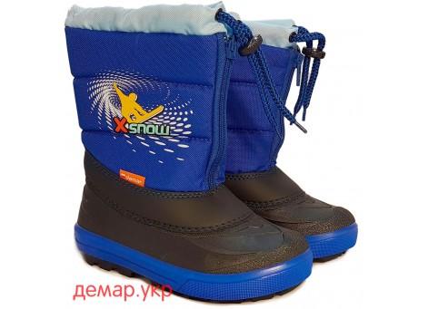 Детские дутики, сноубутсы - Demar KENNY2 1532-NA, синие