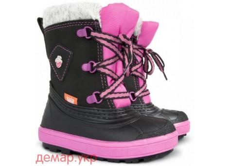 Детские дутики, сноубутсы - Demar BILLY 1501-B, розовые