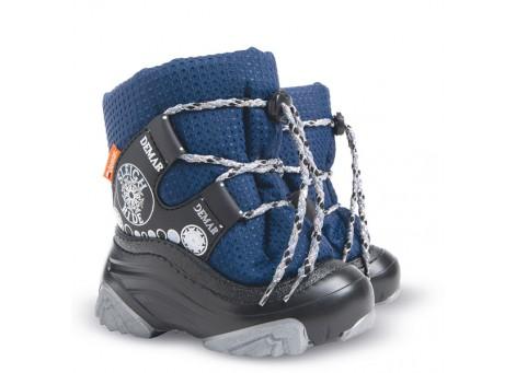 Детские дутики, сноубутсы - Demar SNOW RIDE2 4016-NB, синие