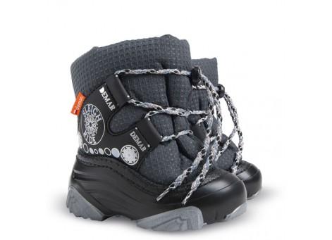 Детские дутики, сноубутсы - Demar SNOW RIDE2 4016-NA, серые