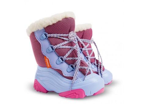 Детские дутики, сноубутсы - Demar SNOW MAR2 4017-NA, розовые