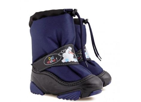Детские дутики, сноубутсы - Demar SNOWMEN2 4010-NC, синие