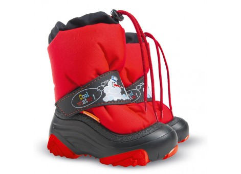 Детские дутики, сноубутсы - Demar SNOWMEN2 4010-NA, красные
