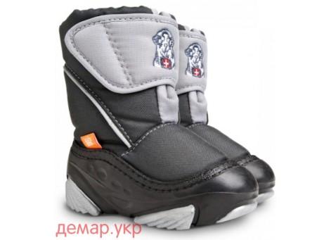 Детские дутики, сноубутсы - Demar DOGGY 4021-C, серые