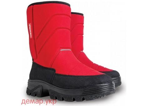 Детские дутики, сноубутсы - Demar HANNU 1601-A, красные