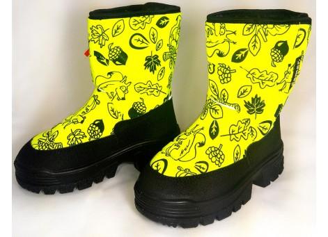 Детские дутики, сноубутсы - Demar HANNU 1601-E, желтые