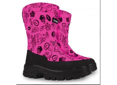 Детские дутики, сноубутсы - Demar SWEN-M 1630-G, розовые